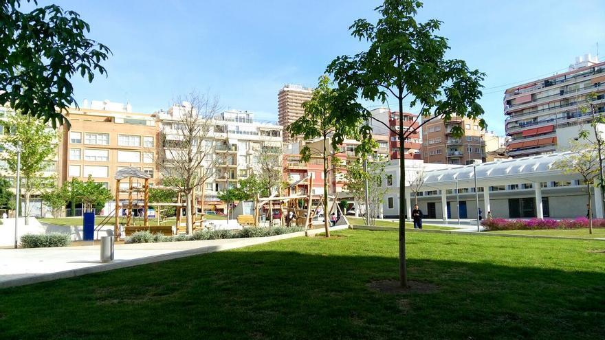 Plaza Séneca una de las zonas comerciales de la ciudad