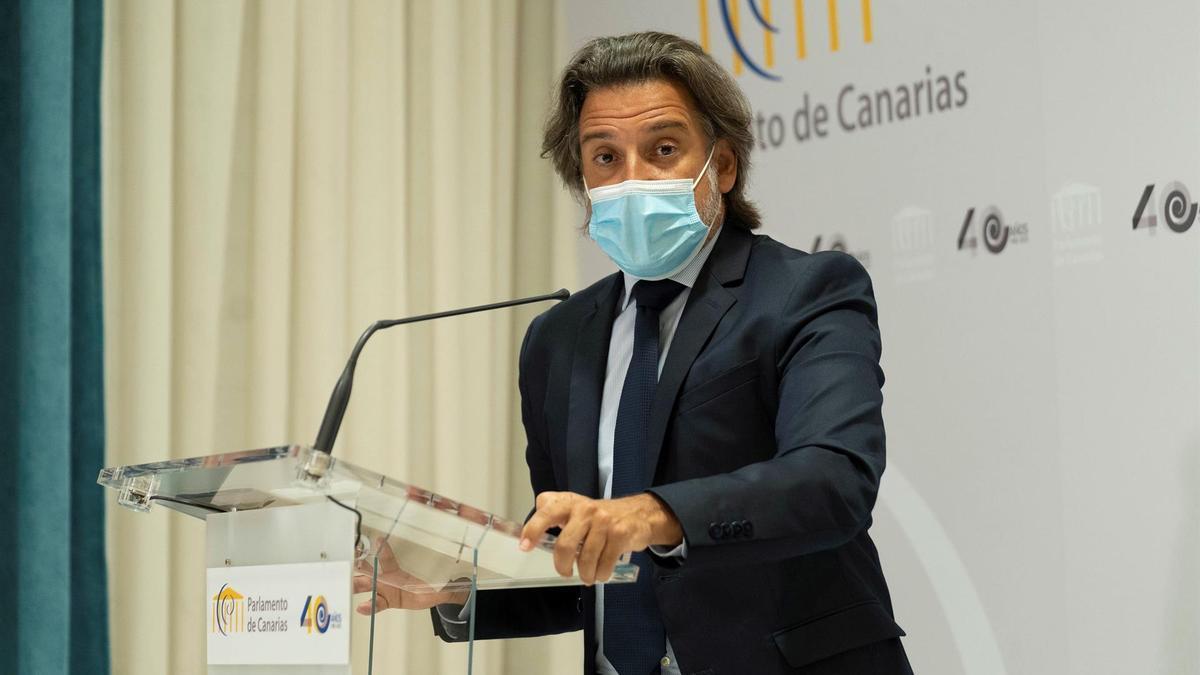 Gustavo Matos hace balance de la actividad parlamentaria en Canarias