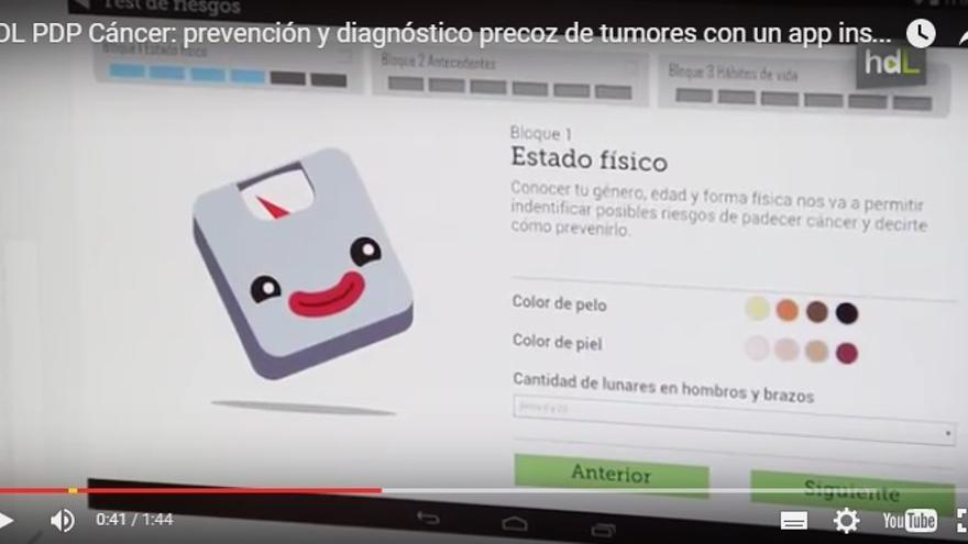 PDP Cáncer: prevención y diagnóstico precoz de tumores con un app inspirada en los videojuegos