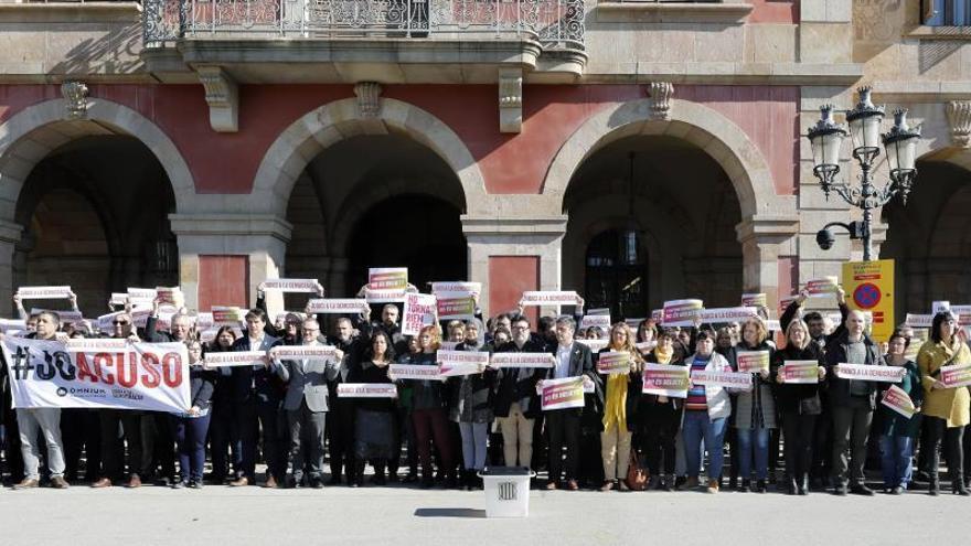 La CUP advierte que con los presos se juzga también a la autodeterminación