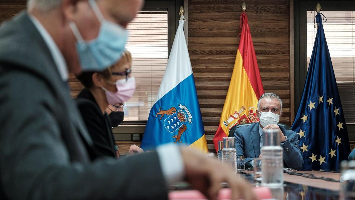 Reunión del Consejo de Gobierno de Canarias este jueves, 16 de septiembre