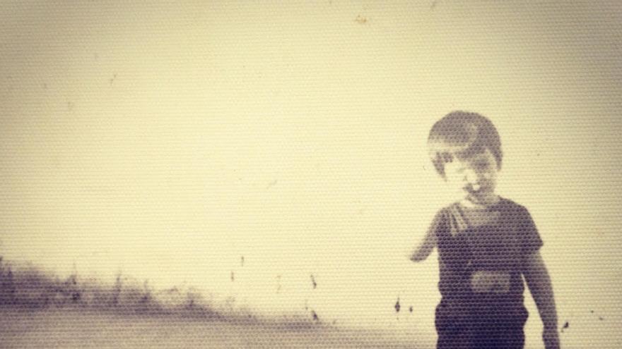 José Antonio Estévez, en su infancia.