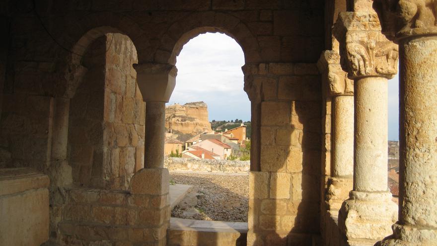 Vista desde la Galería de San Pedro de Caracena. Julen Iturbe-Ormaetxe