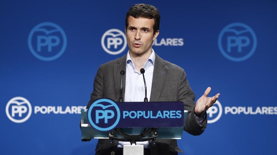 """Pablo Casado, sobre el adelanto electoral en Grecia: """"El fracaso de Tsipras es el modelo de Podemos"""""""