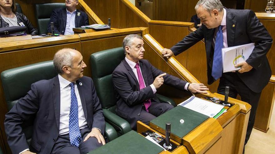 El Gobierno Vasco retira sus presupuestos al fracasar un acuerdo con EH Bildu