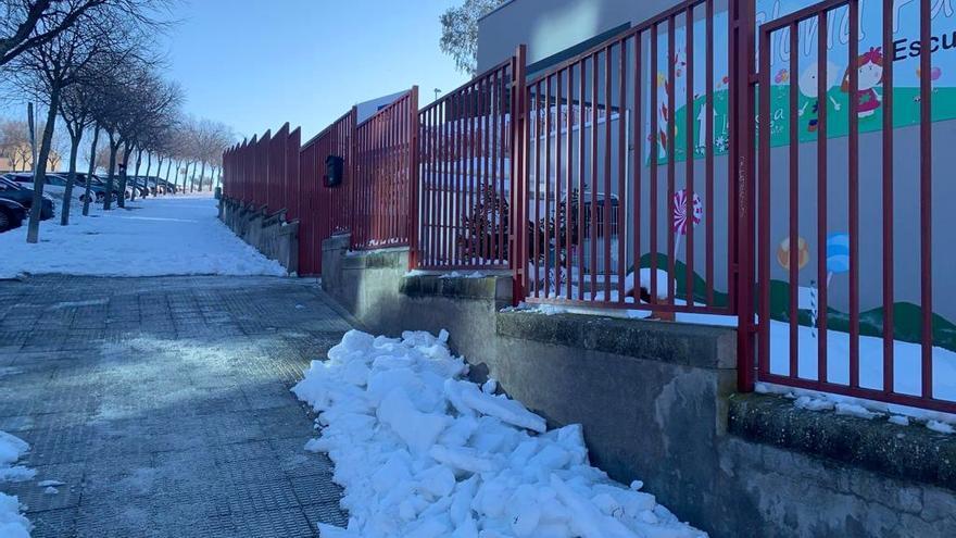 Educación deja a elección de los centros cuándo recuperar los tres días lectivos perdidos a causa de 'Filomena'