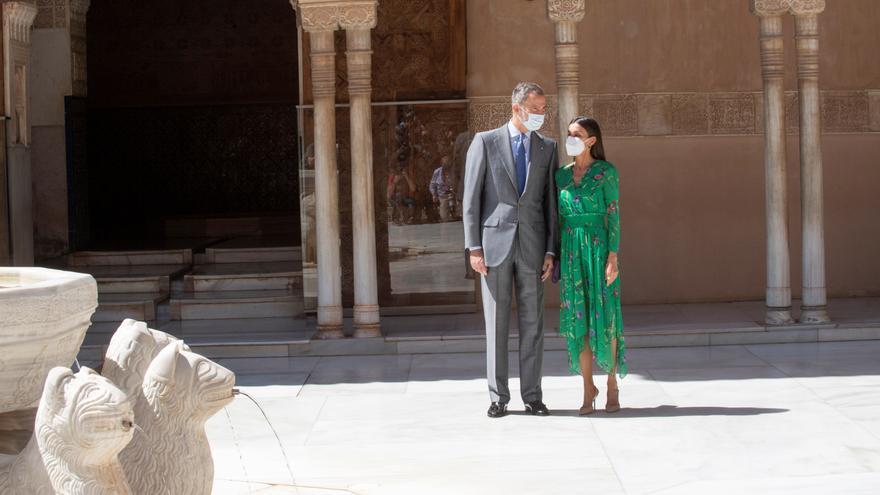 """Los Reyes inauguran en Granada la muestra """"Odaliscas. De Ingres a Picasso"""""""
