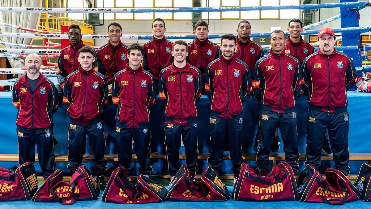 Selección española de boxeo
