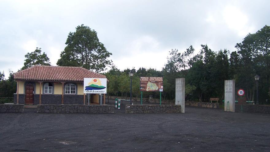 Imagen de archivo de la entrada al Parque Recreativo de La Laguna de Barlovento.
