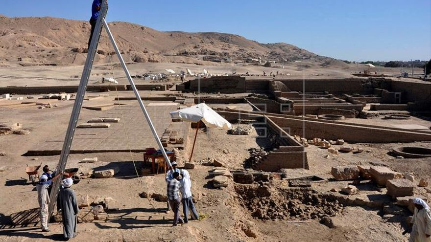 El misterio envuelve el origen del templo del faraón guerrero