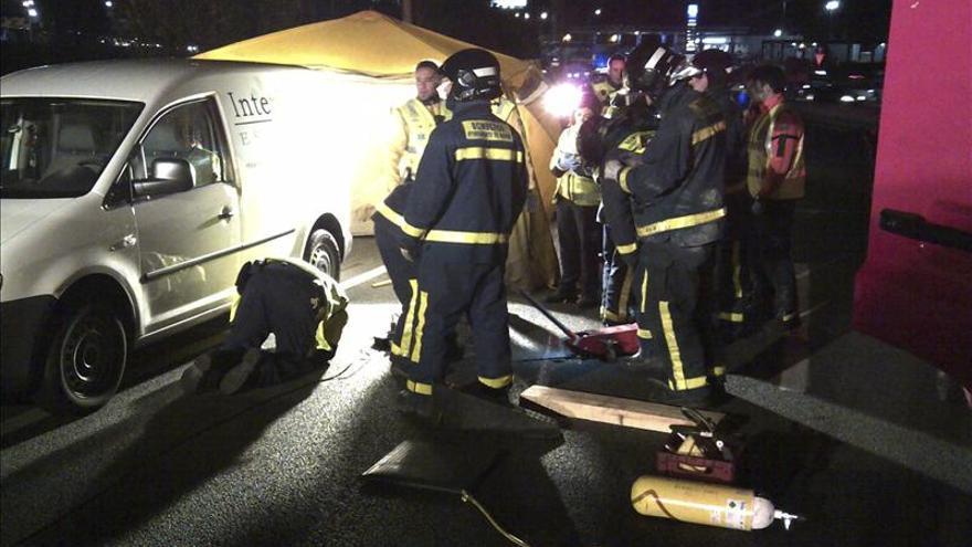 Cuatro muertos en las carreteras españolas durante el fin de semana