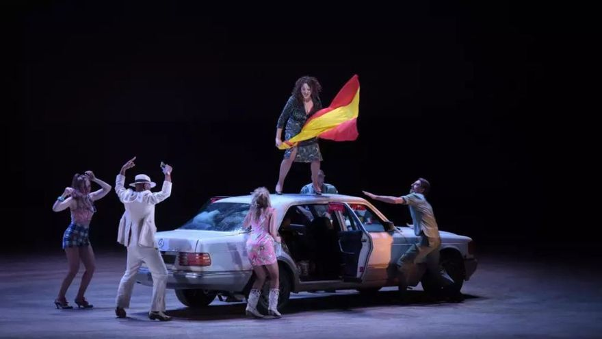 Una escena de 'Carmen' de Bieito