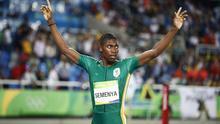 Caster Semenya, campeona olímpica de los 800 m en los Juegos Olímpicos de Rio (2016)
