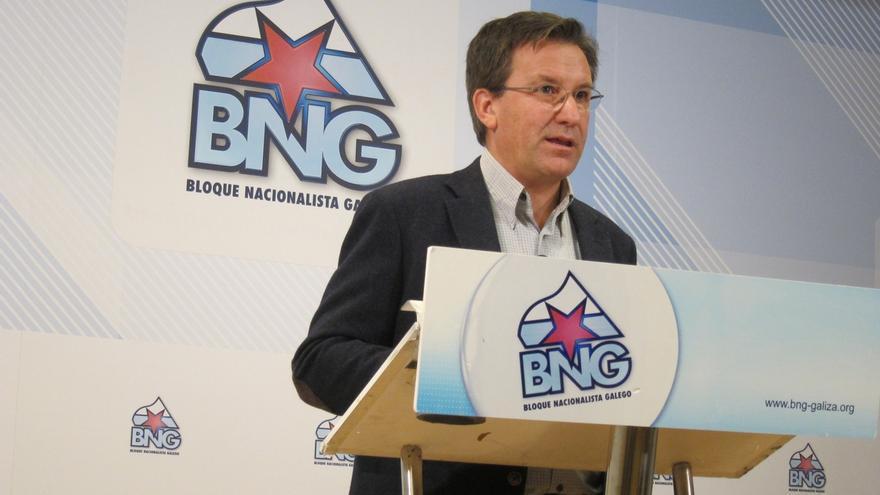 """El BNG pide al Gobierno acepte un referendo y quiere que Galicia no sea """"espectadora"""" del debate territorial"""
