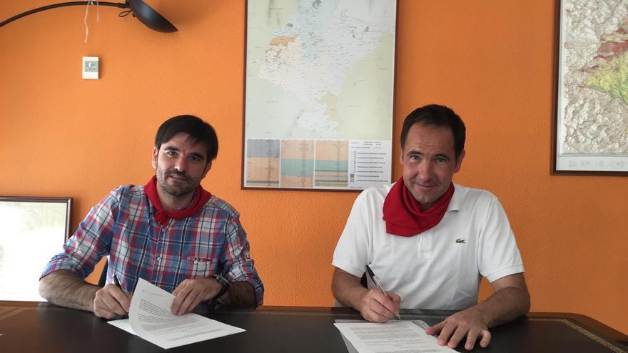 El Gobierno foral subvenciona con 1,3 millones un nuevo vial de acceso al IES Benjamín de Tudela