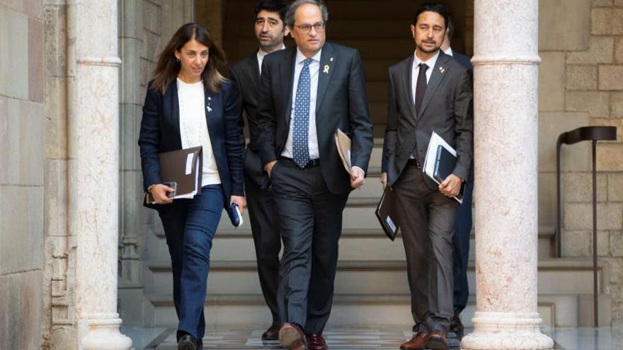"""Malestar en ERC con la portavoz del Govern, Meritxell Budó, por sus """"meteduras de pata"""""""