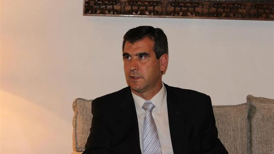 Antonio Román, alcalde de Guadalajara (PP) / Foto: Europa Press