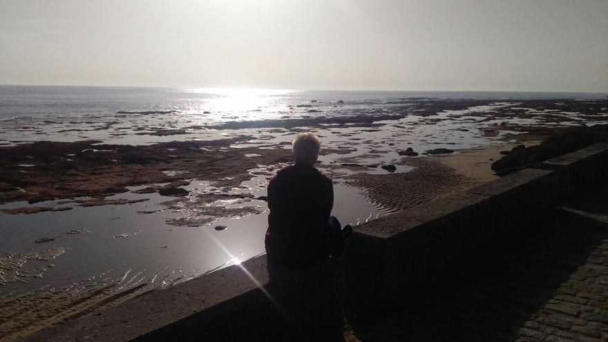 David, en el paseo marítimo de Cádiz | Foto cedida por la familia