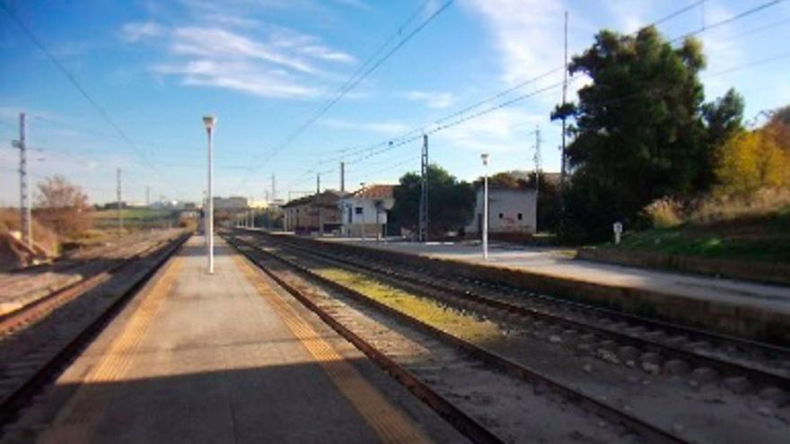Adif mejorará el drenaje de las vías en la estación de Aguilar de la Frontera