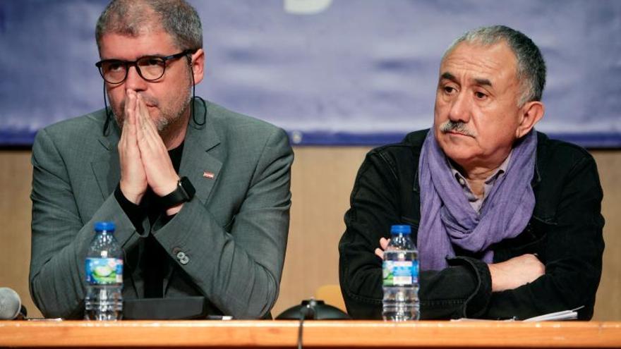 Los sindicatos españoles alertan del peligro de ascenso de la ultraderecha europea