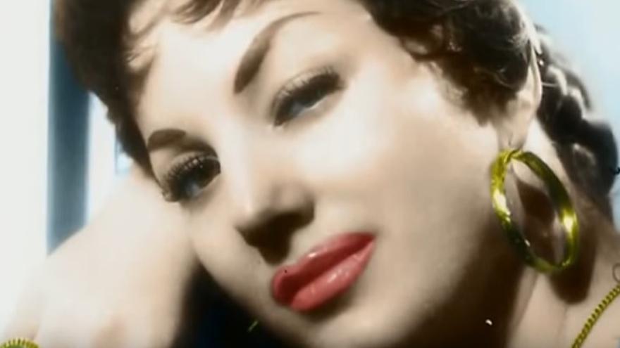 Manuela, en una imagen en la plenitud de su carrera.