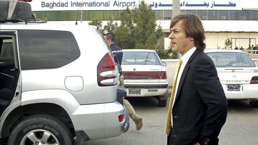Santiago Pedraz viajó a Bagdad durante la investigación del caso Couso