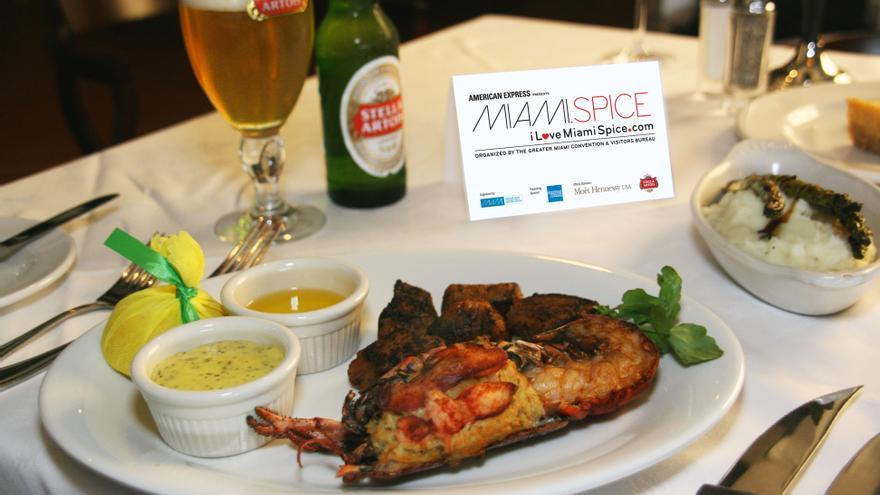Miami Spice regresa este verano con su cocina de calidad en 114 restaurantes