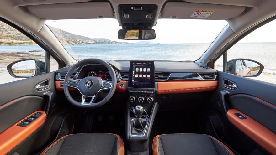 Gran salto de calidad en el habitáculo del nuevo Renault Captur.