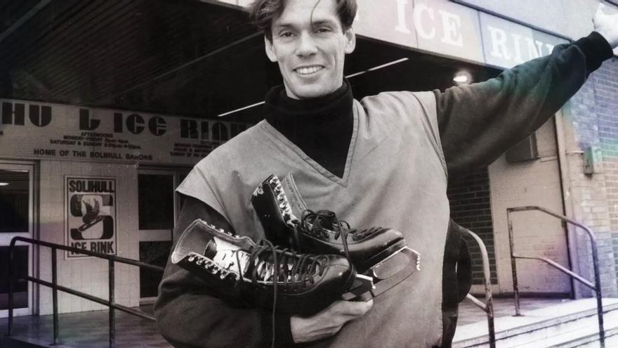 Imagen que aparece en el documental 'The Ice King', sobre la vida de John Curry, el primer atleta olímpico abiertamente gay