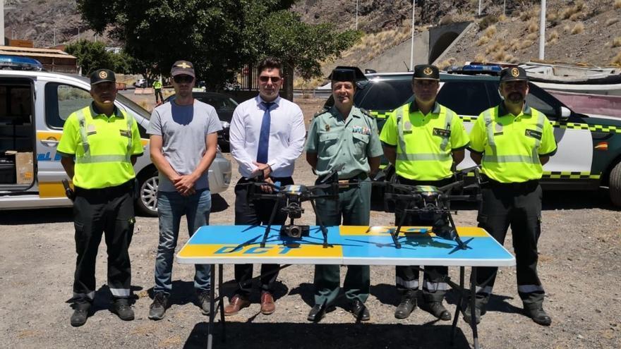 La DGT presenta sus drones para vigilancia en Canarias