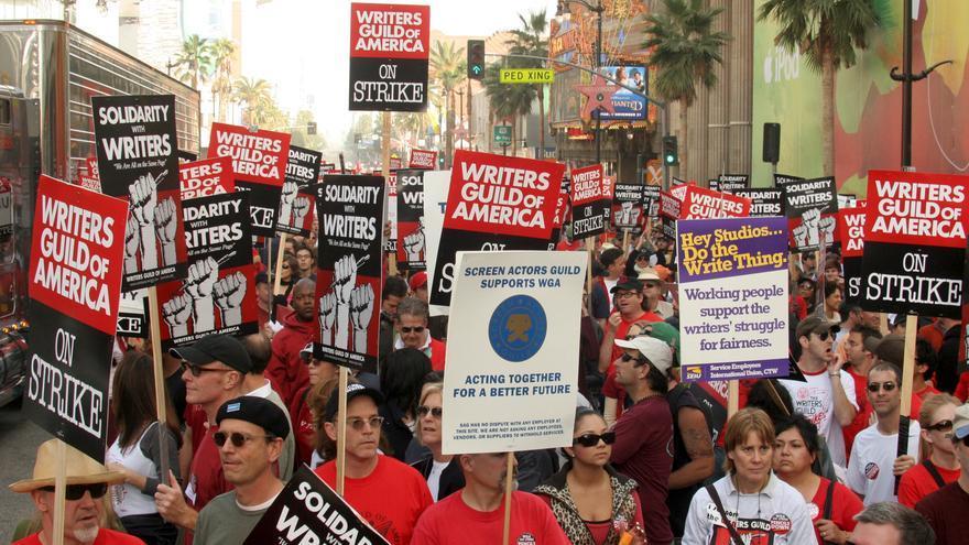 Huelga de guionistas en Hollywood