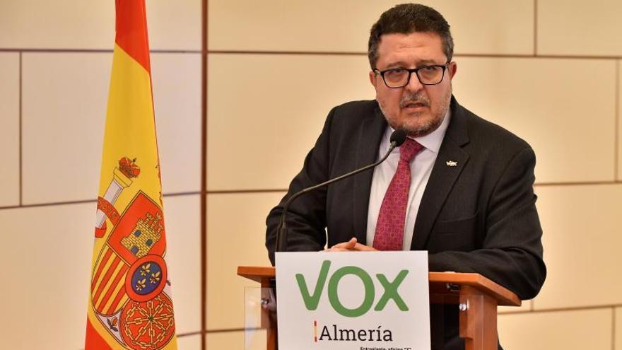 Serrano (Vox) asegura que un colaborador publicó su mensaje sobre La Manada