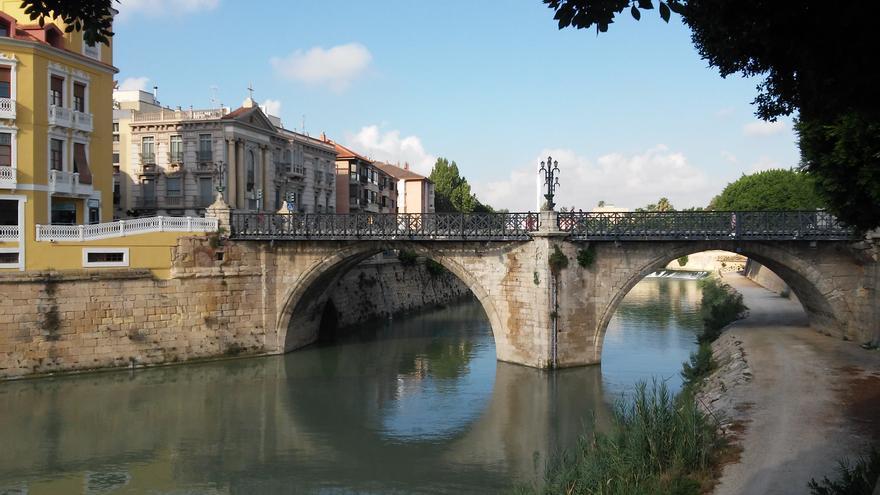 Puente Viejo, ciudad de Murcia