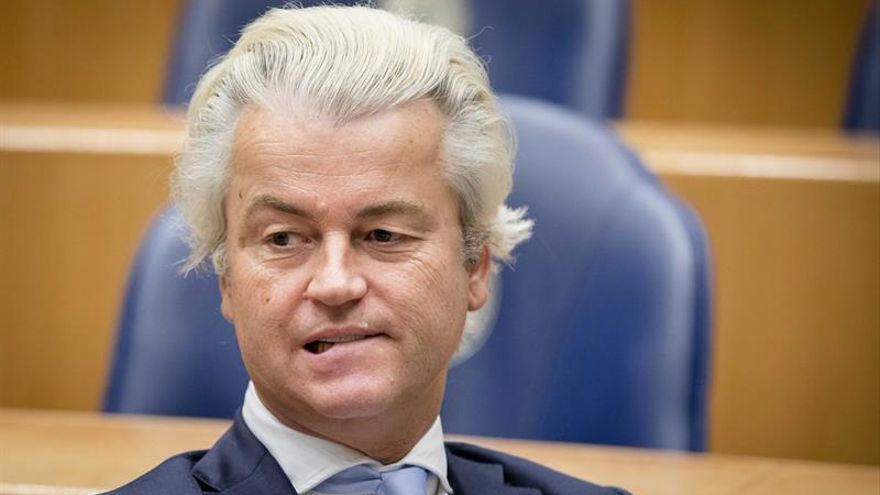 El ultraderechista Geert Wilders.