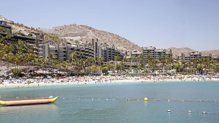 Playa de Anfi del Mar. (Alejandro Ramos).