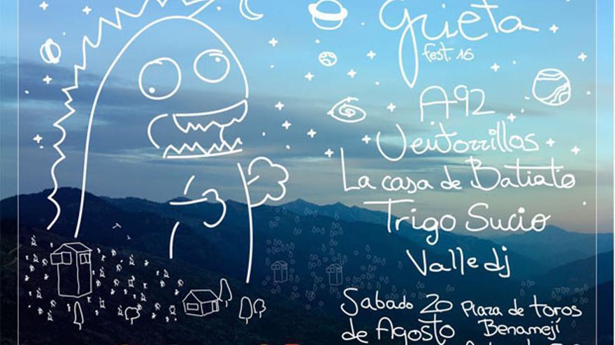 Cartel del Grieta Fest 2016.