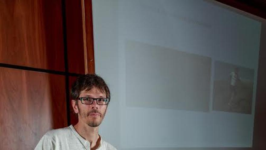 Oscar Otín Arroyo.Foto: Marten van Dyken/Transvulcania