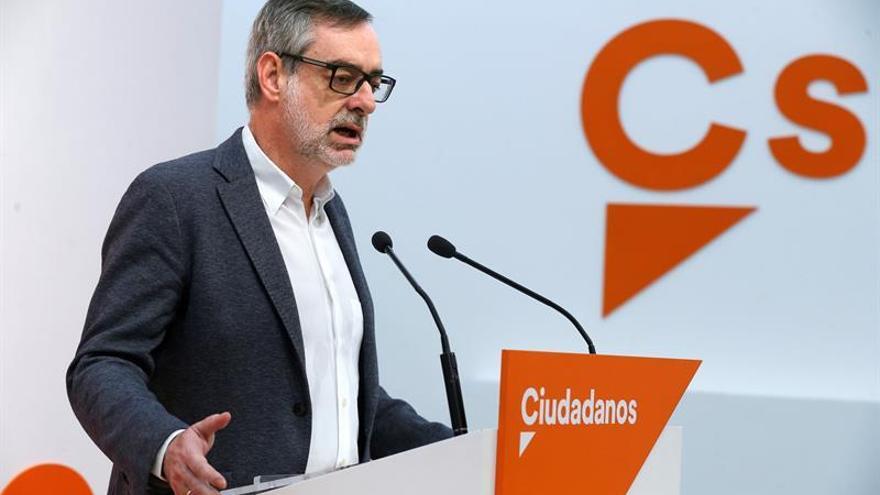 Ciudadanos niega tensiones con el PP por la comparecencia de Cifuentes