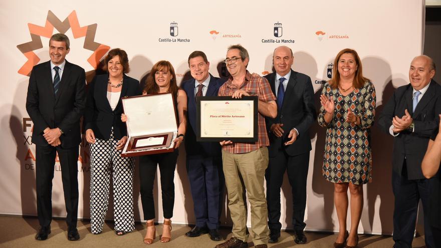 Entrega reconocimientos artesanos FARCAMA 2017