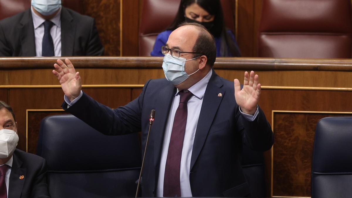 El de Política Territorial y Función Pública, Miquel Iceta.
