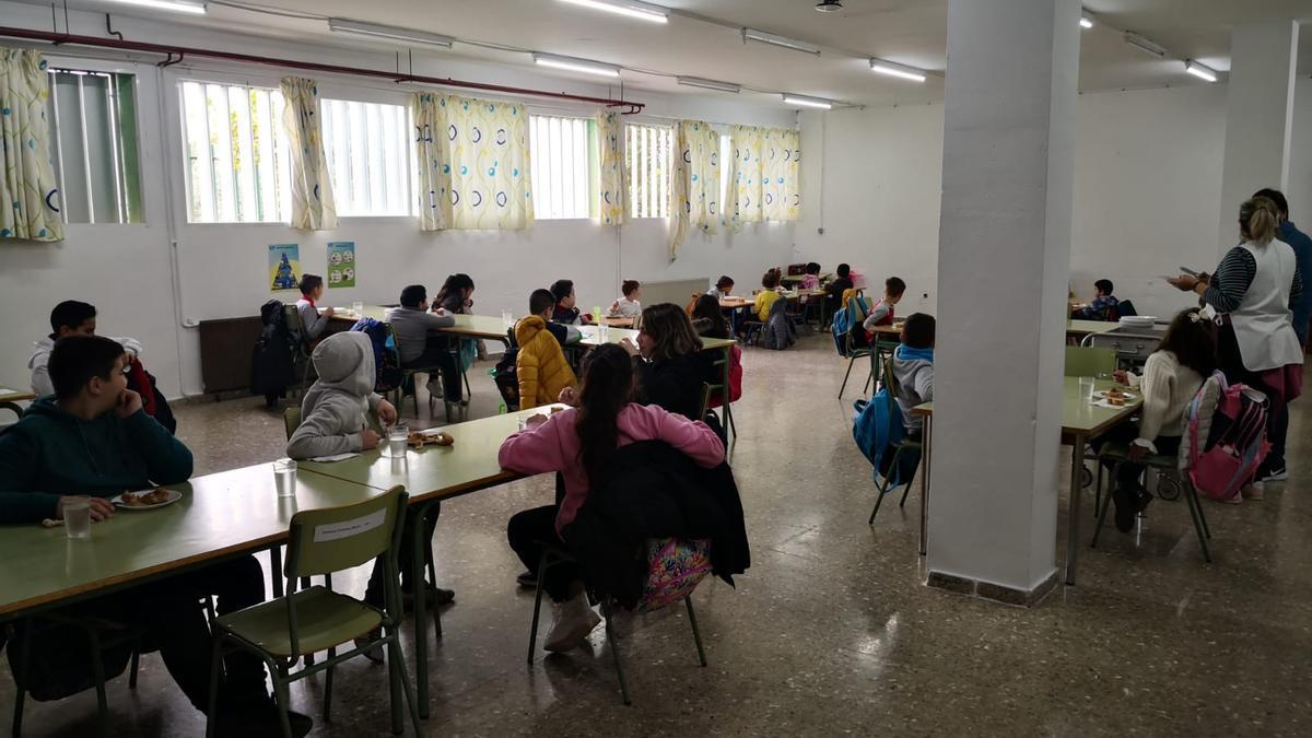 Colegio público Cervantes de Espejo.