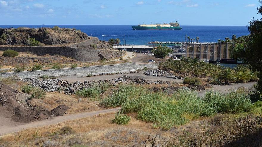 Terrenos situados en Las Huertas, en la trasera de la playa de Las Teresitas. (Cedida a Canarias Ahora)