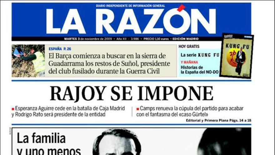 De las portadas del día (3/11/2009) #7