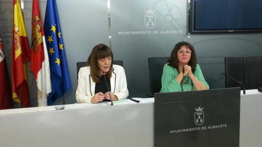 Victoria Delicado, portavoz de IU en Albacete / Foto: Albacetecapital.es