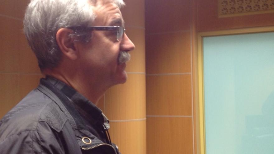 El profesor de Derecho del Trabajo, Juan Hernández.