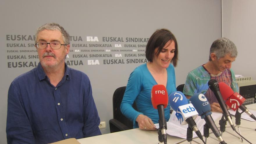 """Muñoz (ELA) dice que el acuerdo de negociación colectiva de Madrid """"busca la desmovilización"""""""