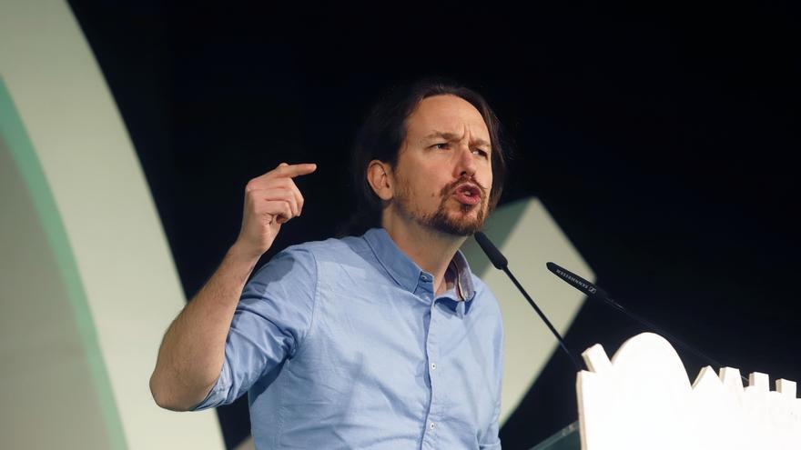 """Pablo Iglesias decreta """"alerta antifascista"""" y llama a la movilización contra los """"postfranquistas"""" de Vox"""