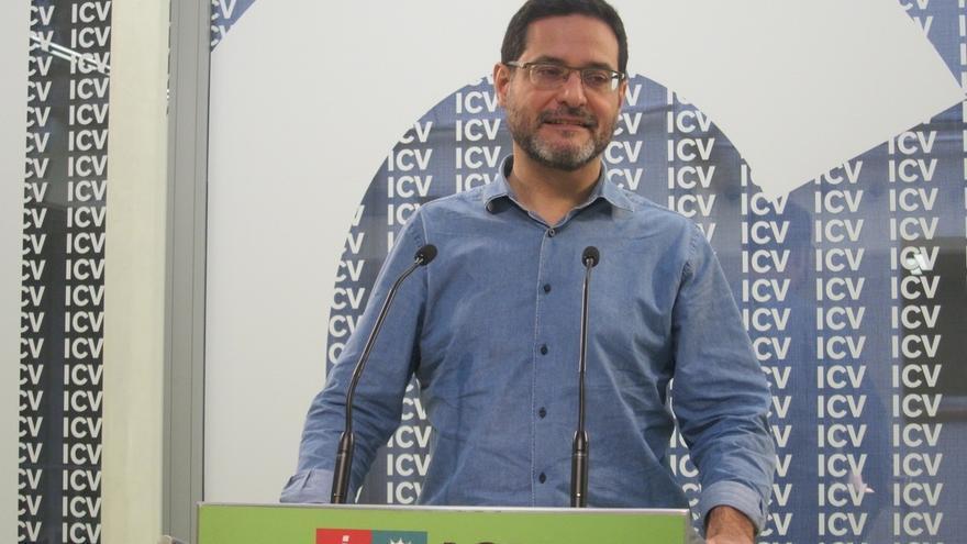 Josep Vendrell presenta los avales para ser candidato de ICV y no tendrá rival