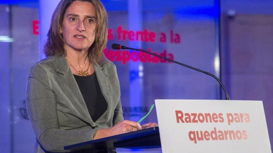 Ribera propone combatir la despoblación con actores locales y no desde el BOE