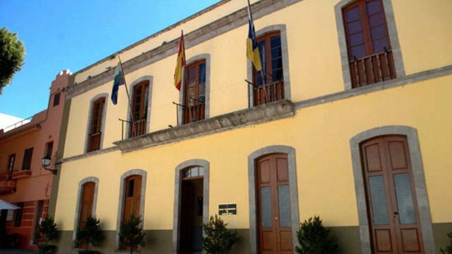 Sede principal del Ayuntamiento de Guía de Isora, en el sur de Tenerife